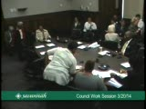 City Council Work Session 3/20/14