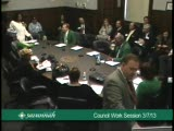 Council Work Session 3/7/13