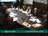 City Council Work Session 4/3/14