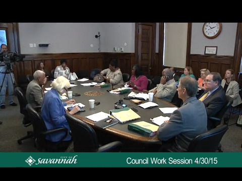 City Council Work Session 4/30/15