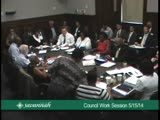 City Council Work Session 5/15/14