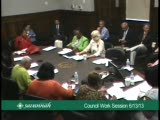 Council Work Session 6/13/13