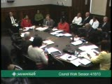 Council Work Session 4/18/13