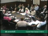 Council Work Session 5/16/13
