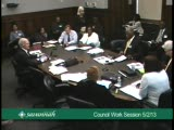 City Council Work Session 5/2/13