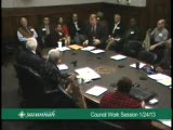 City Council Work Session 1/24/13